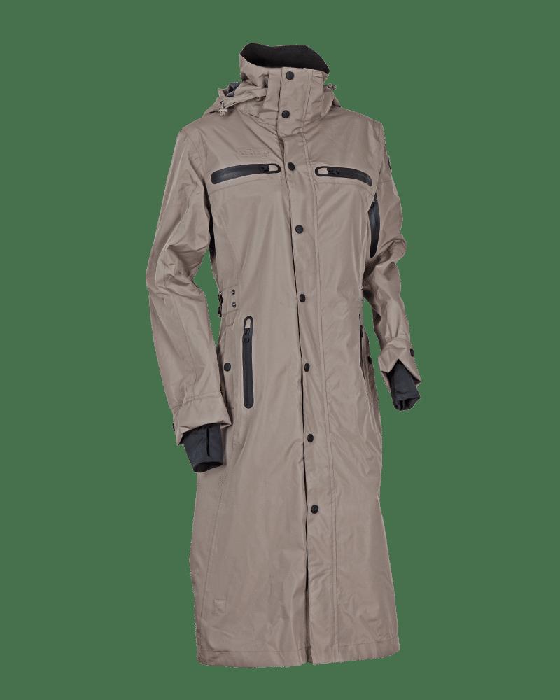 40b6abdd Trench Coat Regn- og vindtæt regnfrakke - MOLE FUNGI | Top Reiter Danmark |  Rideudstyr