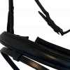 Finesse Bridles trense – Engelsk kombineret sort